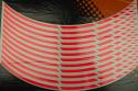 Strisce nastro adesivo per cerchio ruota universale fluorescente.