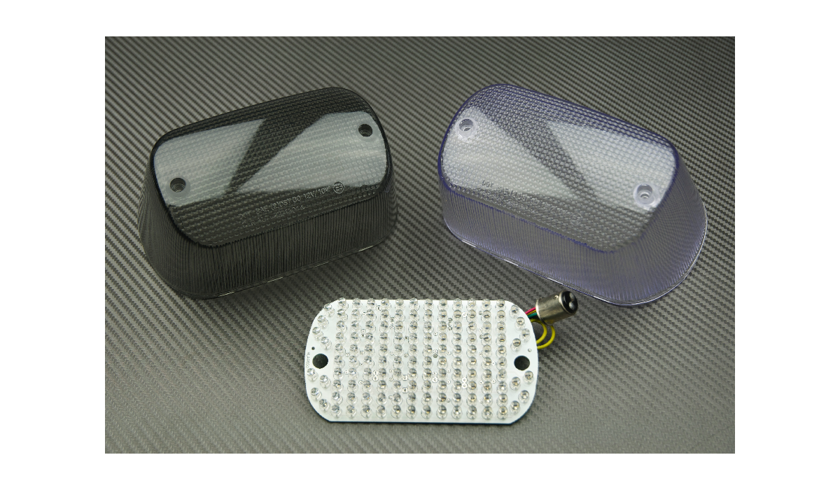 LED Taillight with Integrated turn signals for Suzuki Intruder 1500