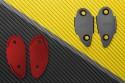 Rearview Mirrors Block Off Plates TRIUMPH - UNIK by Avdb
