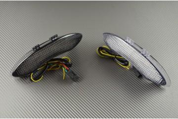 Fanale posteriore indicatori di direzione integrato per Triumph 675 Speed Street Triple