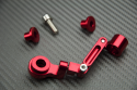 Universal Anodised Aluminum Hinged Brake Fluid Reservoir Bracket