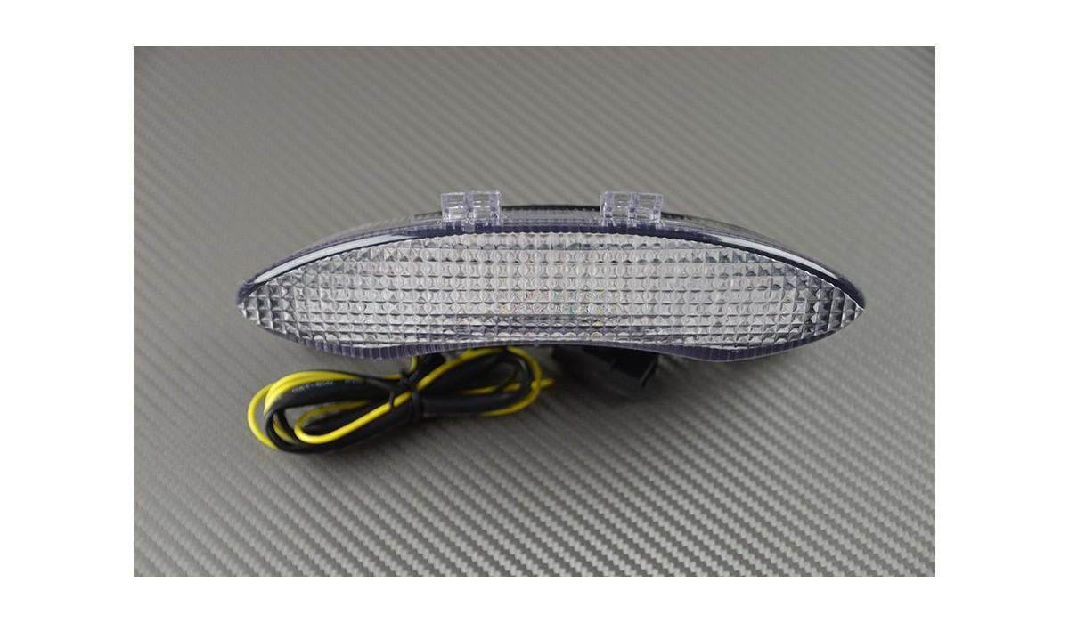 Transparent Feu stop Led Clignotants Int/égr/és 675 Street Triple//Daytona et Speed triple 1050