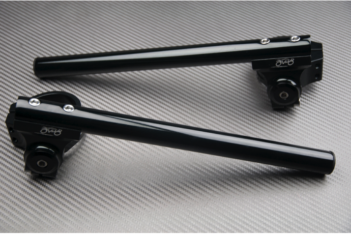 Pair of Reclining & raising AVDB Clip-On Handlebars 50 mm