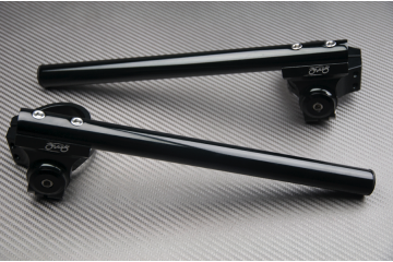 Paire de Demi-Guidons rehaussés inclinables 43mm