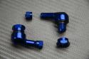 Paire de Valves coudées en aluminium anodisé 11.3 mm