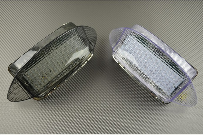 Led Taillight With Integrated Turn Signals For Honda Cbr 600 F3 1997 1998 And Vaderaro Xlv