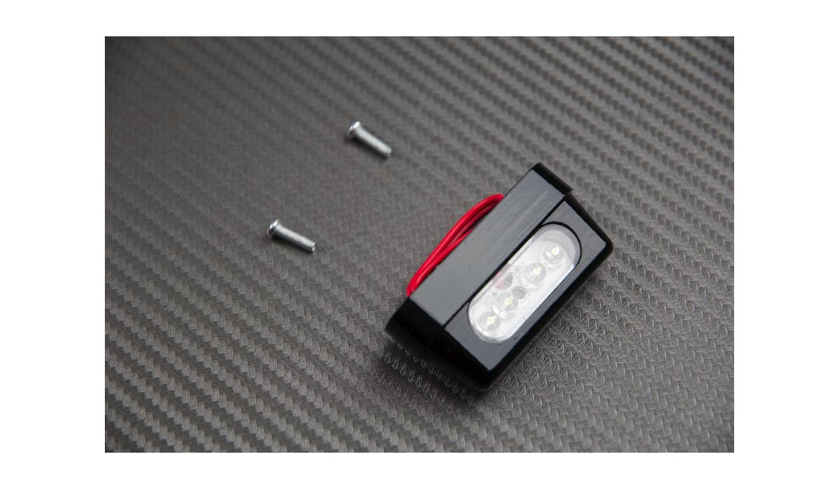 eclairage de plaque 4 led sans vis filet es avdb moto l 39 accessoire prix motard. Black Bedroom Furniture Sets. Home Design Ideas