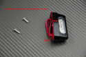 License plate light (4 LED) without threaded screws