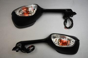 Paar Verstellbarer Rückspiegel mit Blinker Suzuki GSXR 600 750 1000