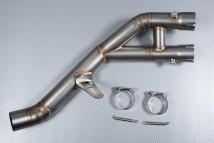 Tubos de conexión en forma de Y / Y pipe con tubo de eliminación del catalizador