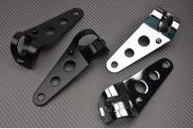 pattes de fixation pour phare rond avdb moto l 39 accessoire prix motard. Black Bedroom Furniture Sets. Home Design Ideas