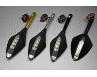 Specchietti con frecce integrate