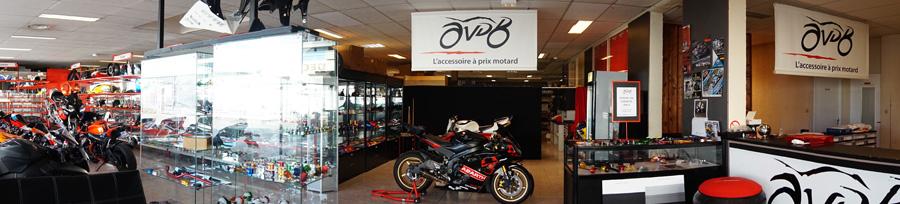 Photo de l'intérieur de notre magasin à Toulouse