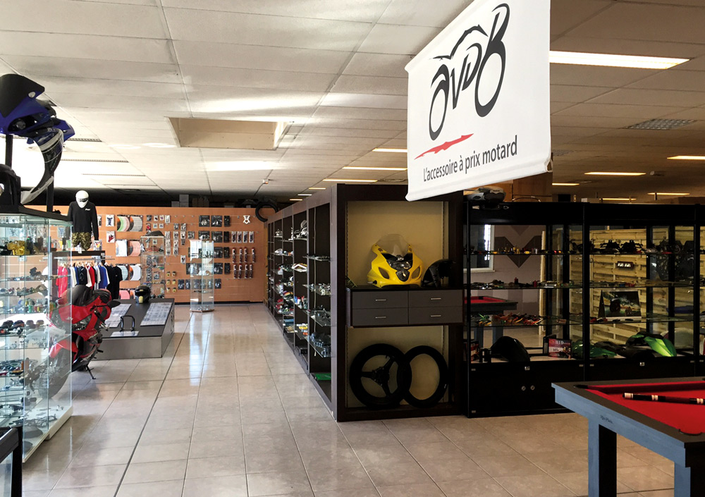 Shop AVDB Moto in Toulouse